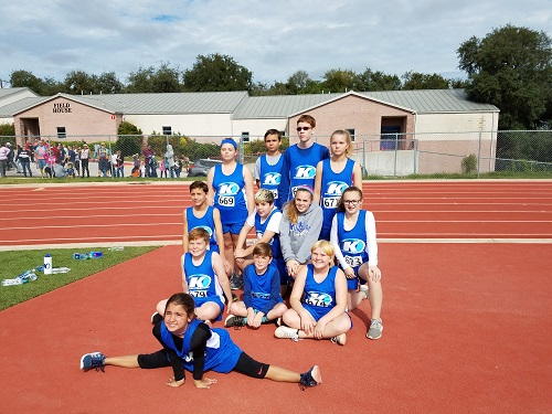Cross Country Team Puts Best Feet Forward