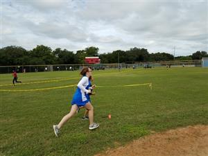Kingsland runner in Regional meet.